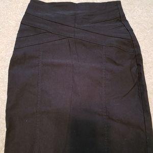 Dynamite Black Pencil Skirt size 1